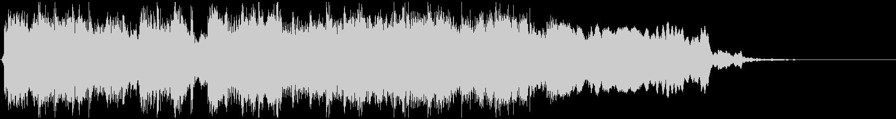 ゴリゴリな和風EDMジングル ※11秒版の未再生の波形