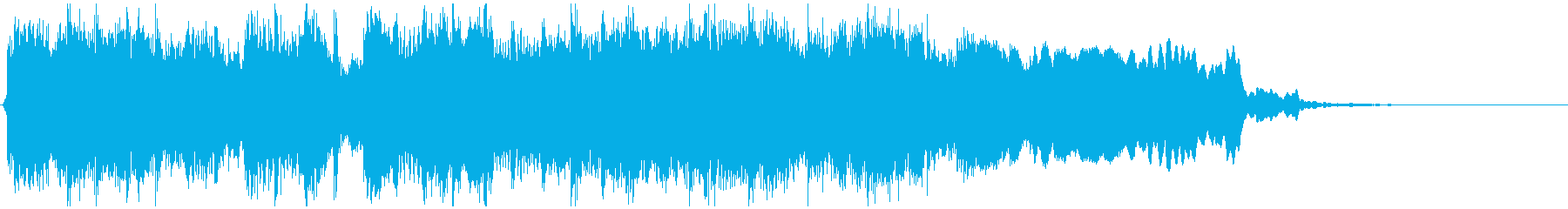 ゴリゴリな和風EDMジングル ※11秒版の再生済みの波形