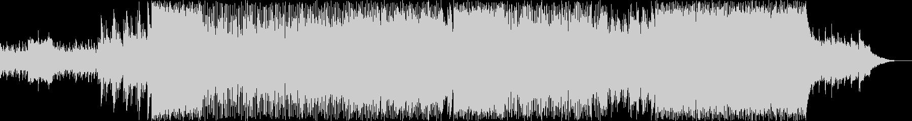 ギターベースのバックグラウンドミュ...の未再生の波形