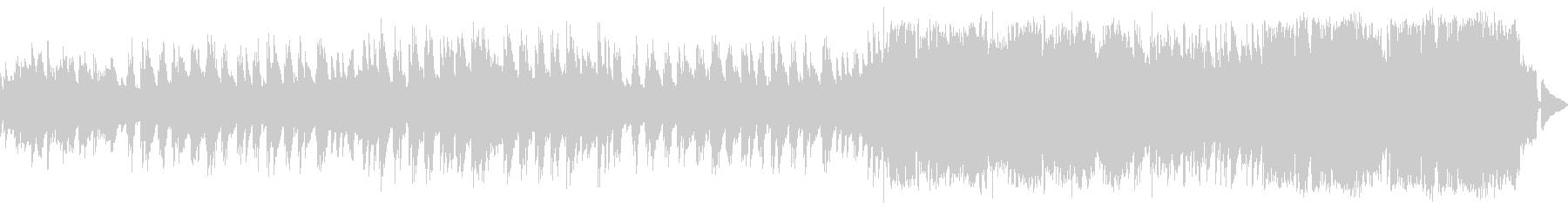 ピアノ中心の優しくてメロディアスなワルツの未再生の波形