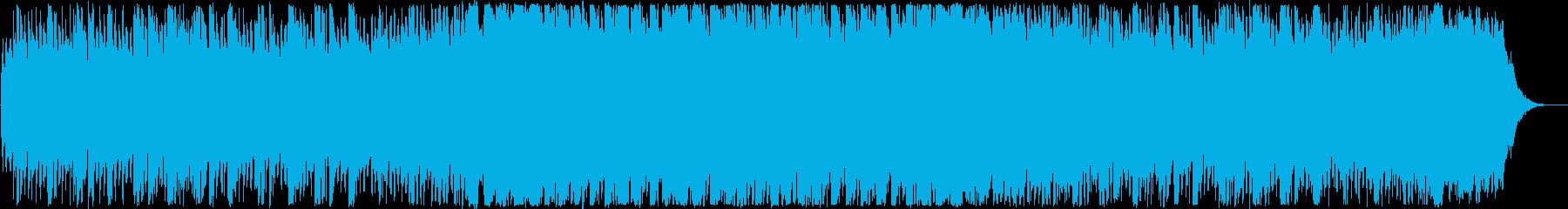 オープニング・キラキラ楽しい洋楽EDMの再生済みの波形