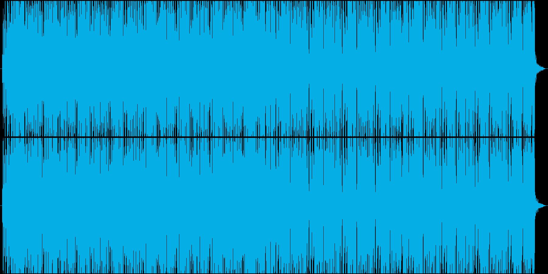 TikTokにありそうなパリピ系EDMの再生済みの波形