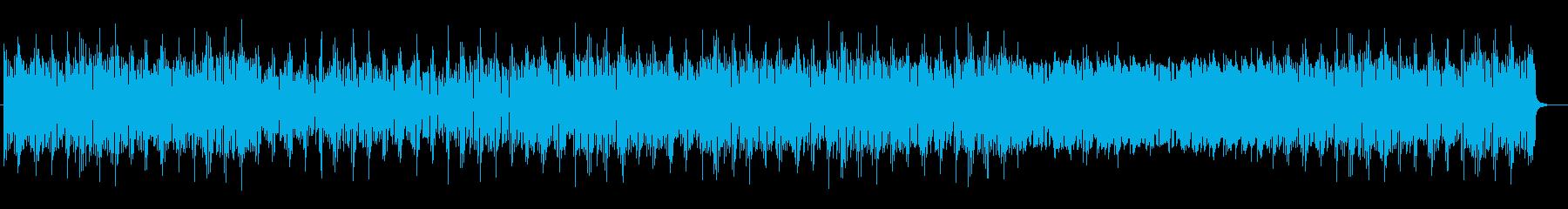 神秘的でリズミカルなポップスの再生済みの波形