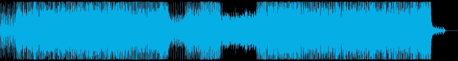 元気で可愛いエレクトロポップの再生済みの波形
