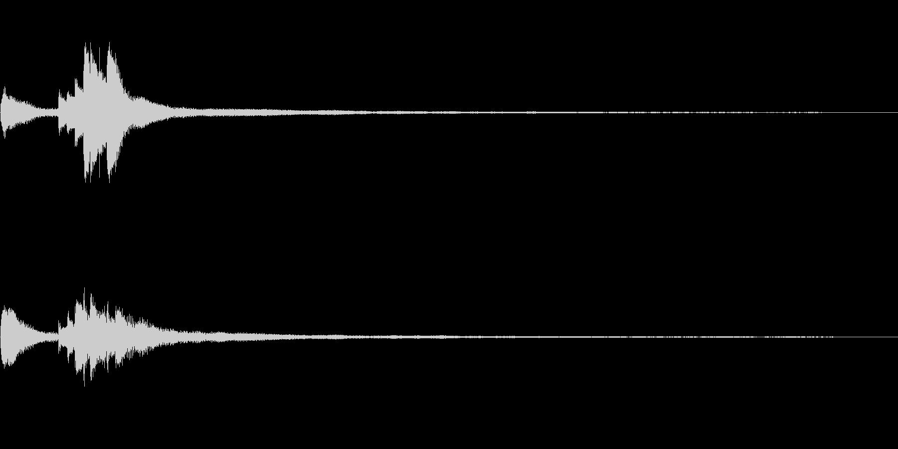怪談話、和風ジングル32a-ピアノソロの未再生の波形