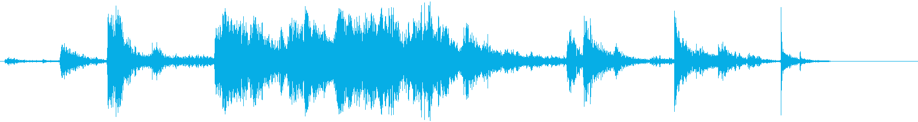 タンブリングジャンクとデブリクラッ...の再生済みの波形