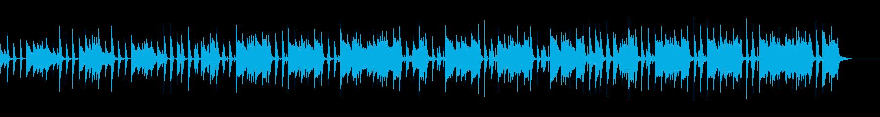 ほのぼの系の日常に合いそうなBGMの再生済みの波形