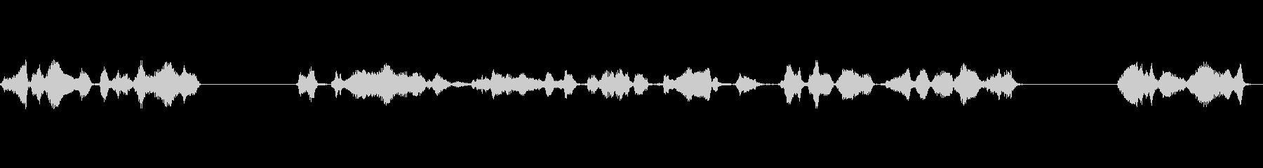 グリーティングアースリング:ラジオ...の未再生の波形