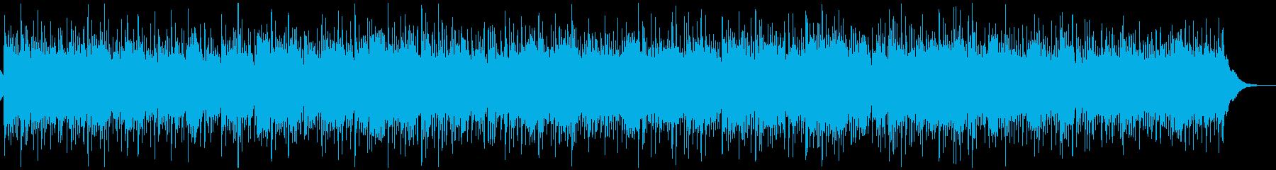 ほのぼの、ほっこりカントリーバラードの再生済みの波形