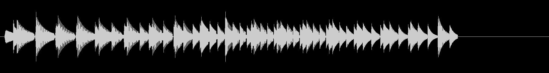 KANTクリックスクロール効果音2087の未再生の波形