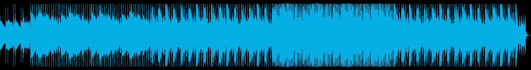 少しコミカルなダンス向けポップの再生済みの波形