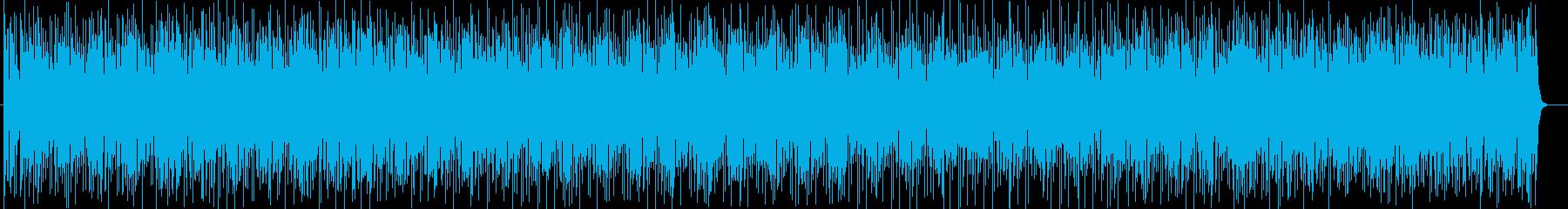 コミカルな音色が特徴的なポップスの再生済みの波形