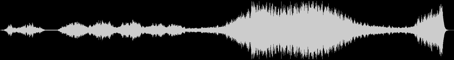 「そんなのつらすぎる」っていう弦楽BGMの未再生の波形