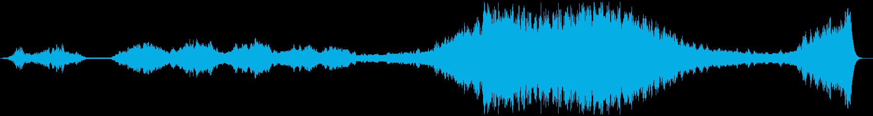 「そんなのつらすぎる」っていう弦楽BGMの再生済みの波形