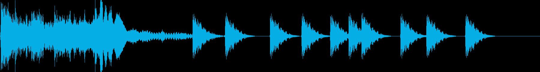 カチャン!ピピピピ(ロックオンする音)の再生済みの波形