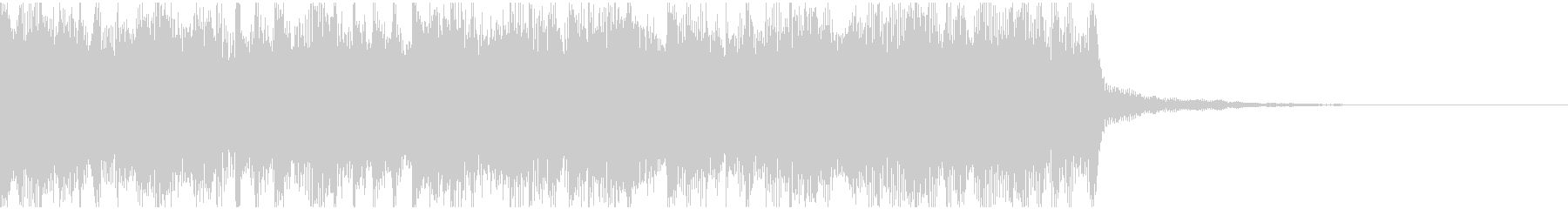 オープニング用サウンドロゴ104の未再生の波形