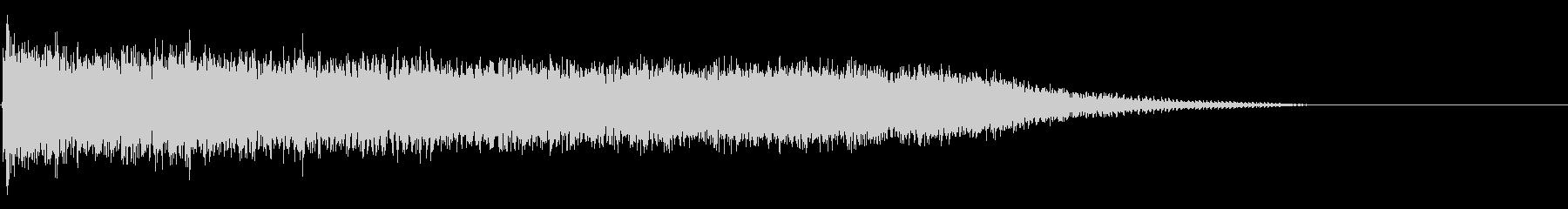 クリスタルクラッシュの未再生の波形