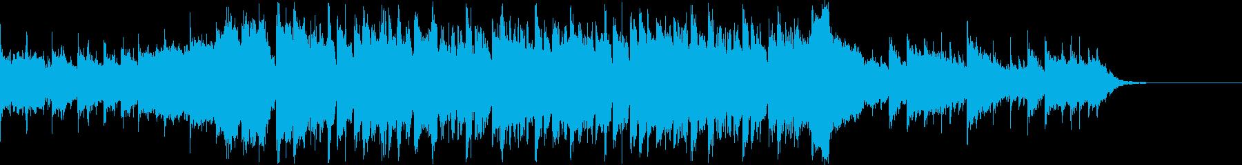 爽やか透明感ピアノフルートコーポレートCの再生済みの波形