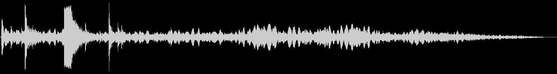着火する音(ガスコンロ)の未再生の波形