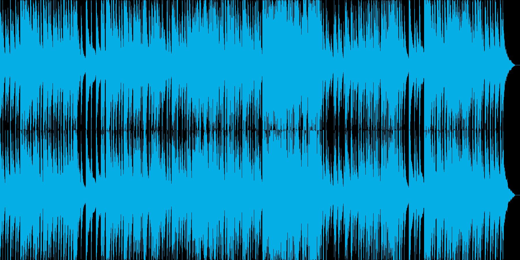 哀愁漂うピアノジャズ(オリジナル曲)の再生済みの波形