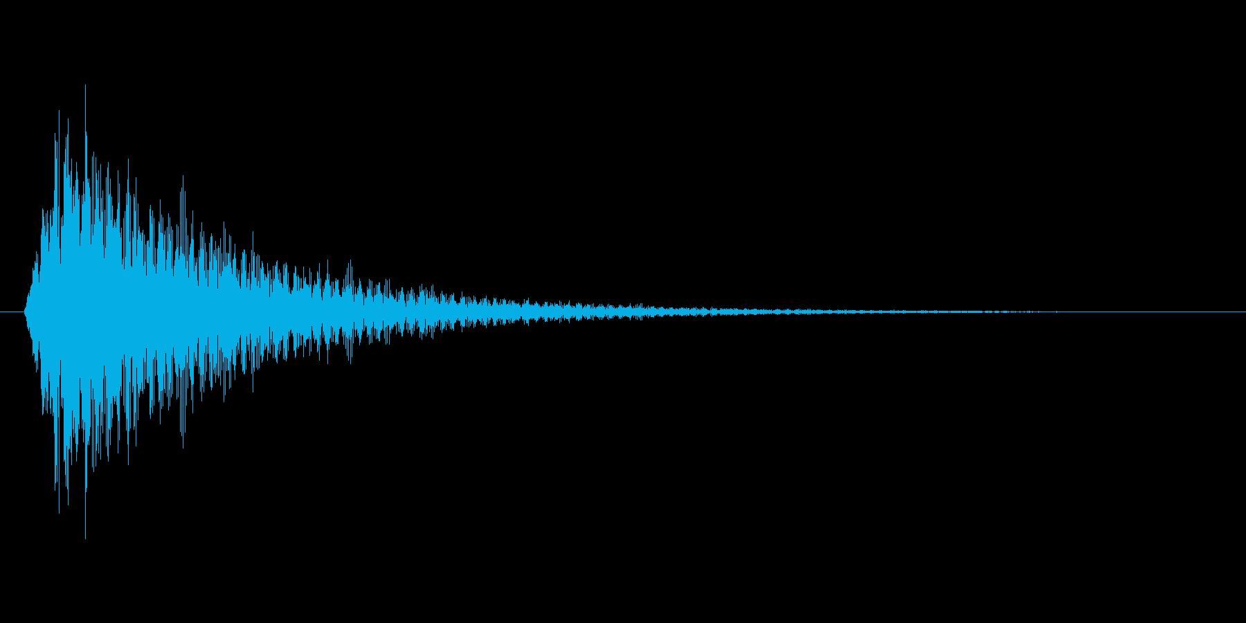 ビカーンの再生済みの波形