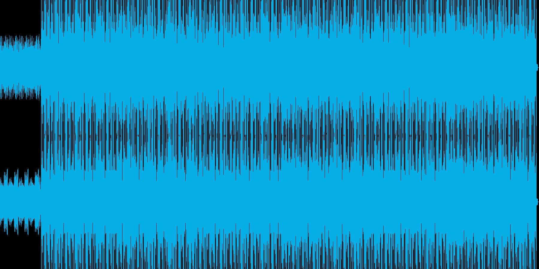 ピアノが光るヒップホップの再生済みの波形