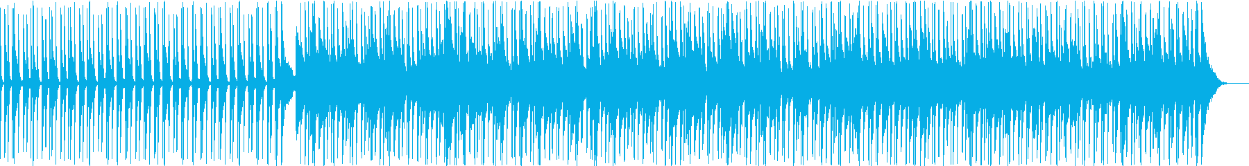 口笛のかわいい映像系の曲(メロディなし)の再生済みの波形
