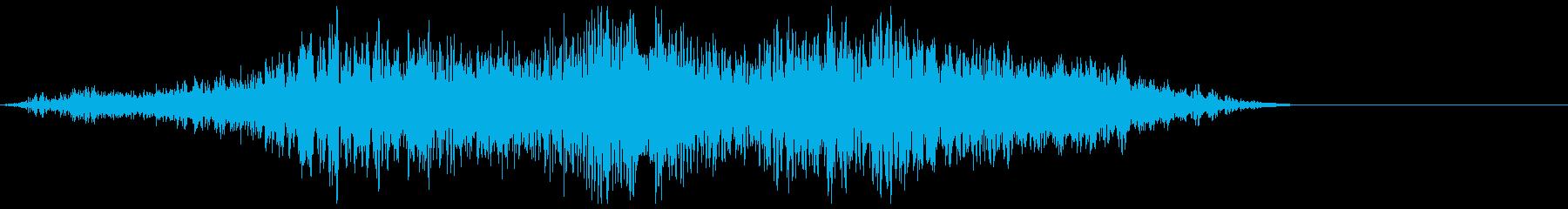 ワープ エナジー系(シュワーン、ギュルルの再生済みの波形