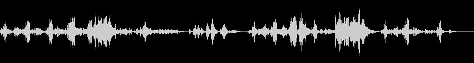 インパクトの強い癒し系ピアノ感動的の未再生の波形