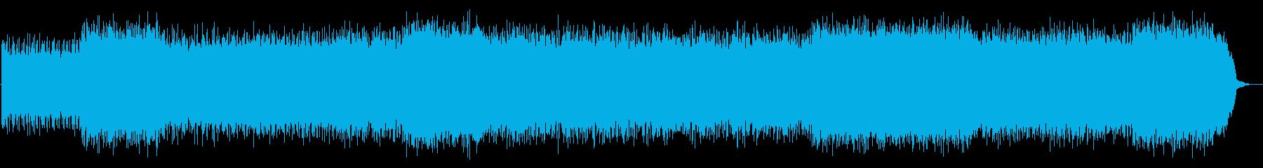 シューゲイザー轟音ギターMBV マイブラの再生済みの波形