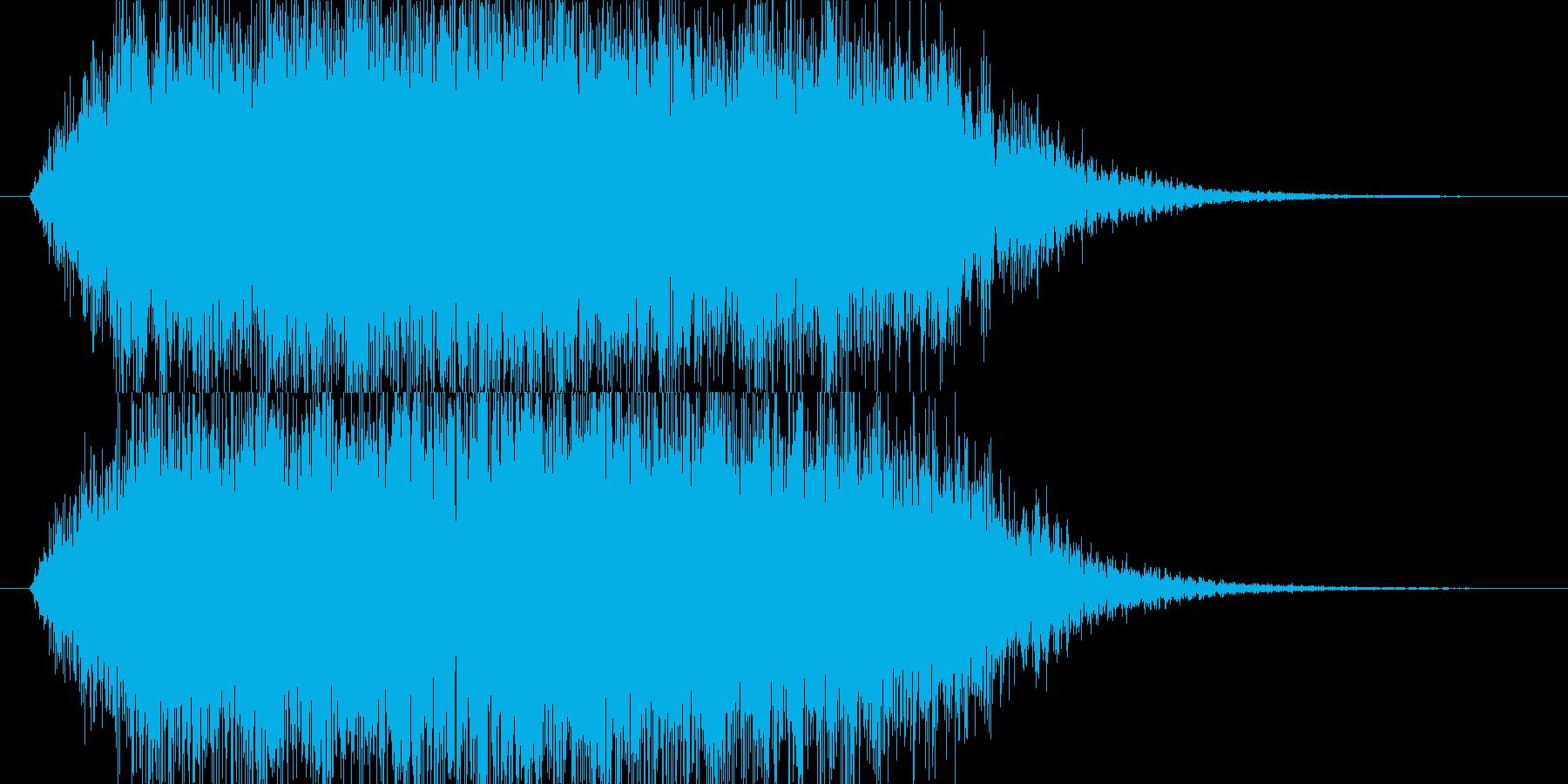 シュワー(ゲーム、アプリ、サウンドロゴ)の再生済みの波形