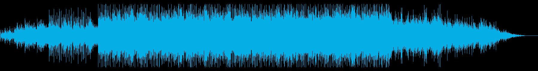 ピアノがきらきら綺麗なBGM4の再生済みの波形