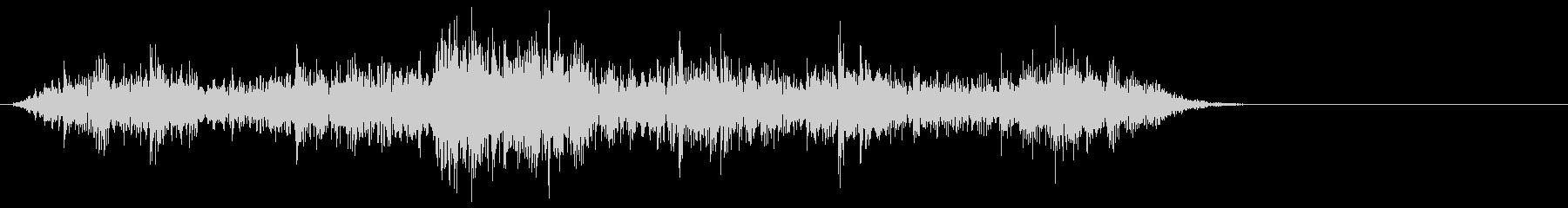 [生音]ビー玉が転がる03(ミドル)の未再生の波形