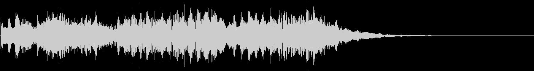 ポロロポロロロ(派手・アイキャッチ)の未再生の波形