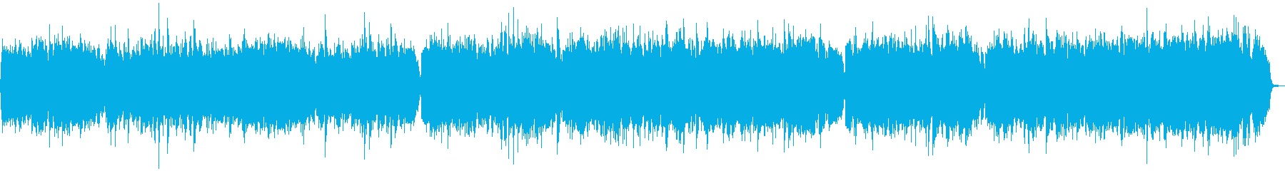 生ヴァイオリン!バッハ、G線上のアリアの再生済みの波形