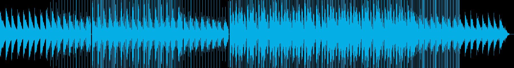 午前5時のLo-Fi Jazz-hopの再生済みの波形
