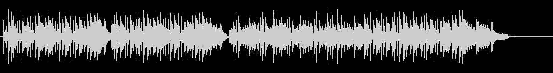 清涼感溢れるBG/ピアノソロの未再生の波形