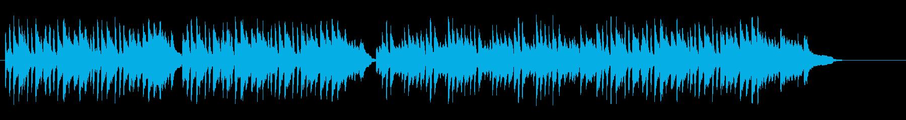 清涼感溢れるBG/ピアノソロの再生済みの波形