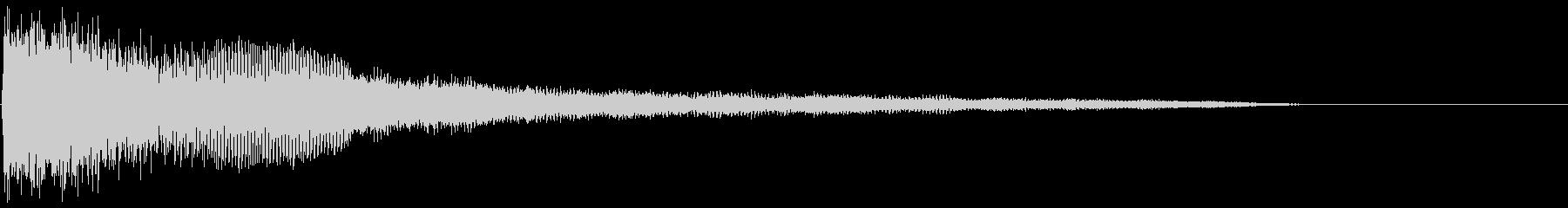 ひも付きの未再生の波形