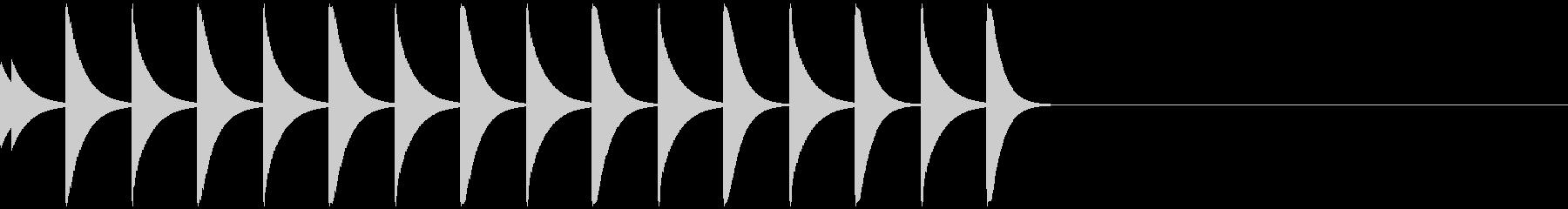 ポコポコ/スクロール/アイキャッチ/2の未再生の波形