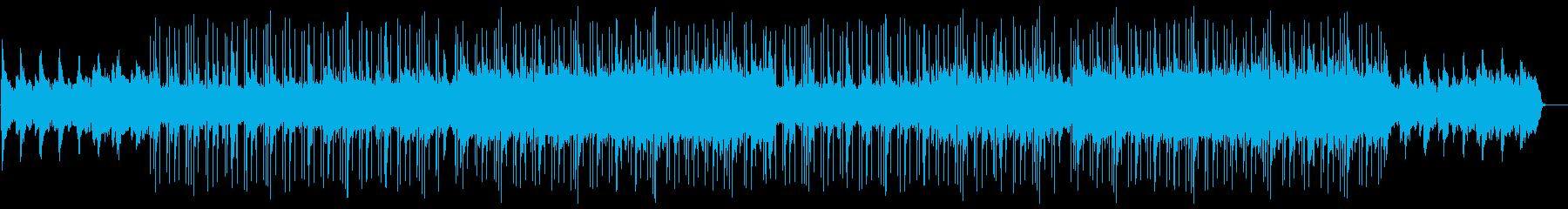 エンディングヒップホップ・哀愁感・夕焼けの再生済みの波形