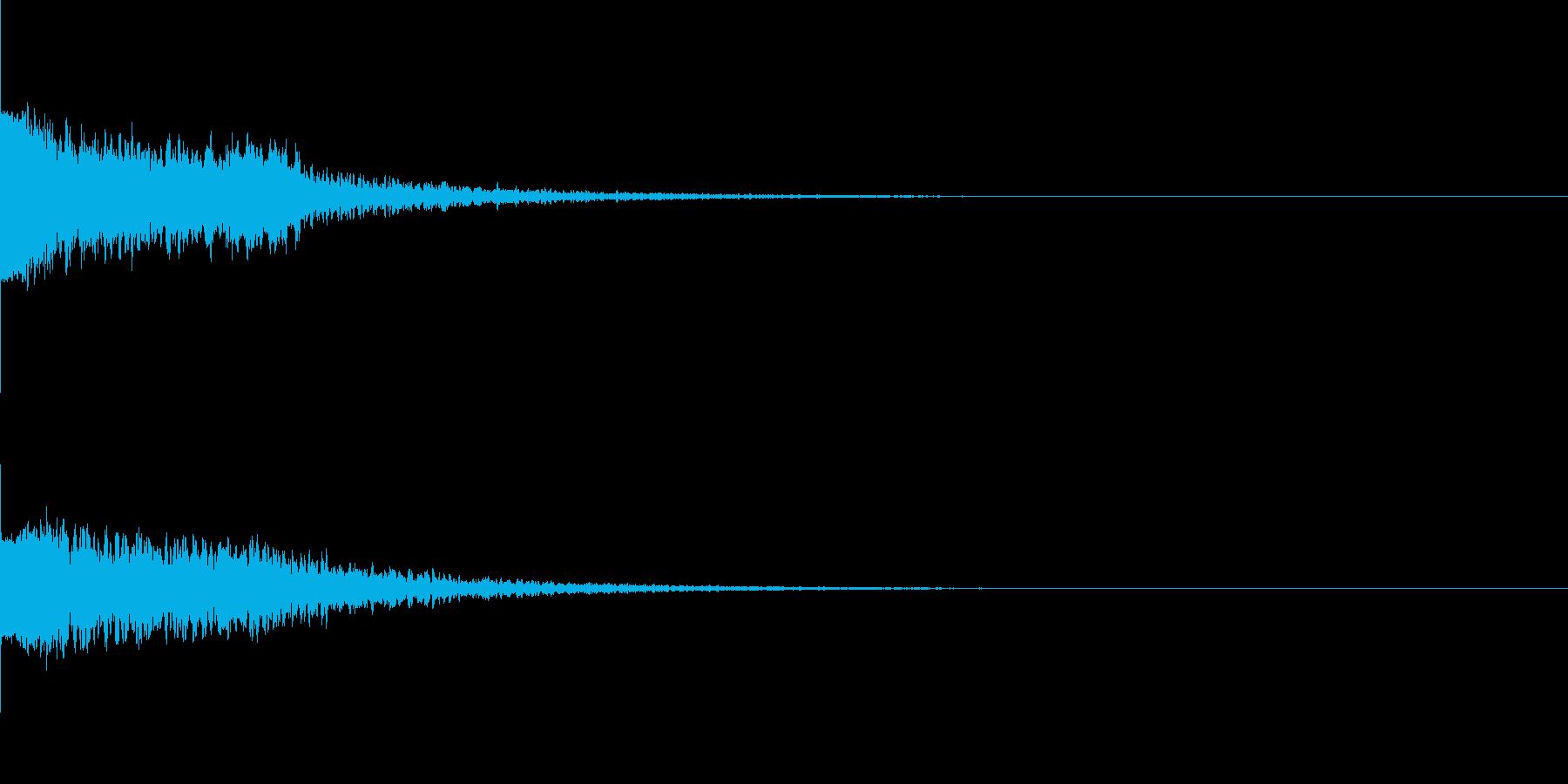違和感、不穏、不気味な不協和音-C7の再生済みの波形