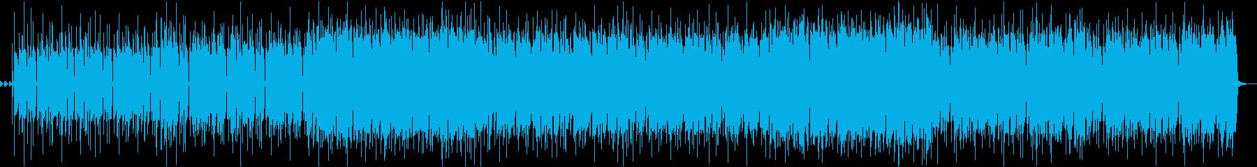 カッティングがクールなファンクロックの再生済みの波形