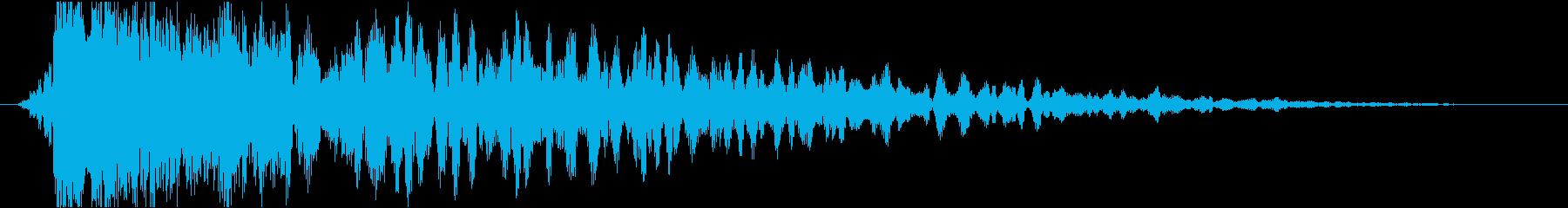 衝撃 爆発11の再生済みの波形
