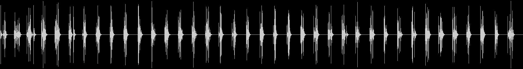 スモールスタジオオーディエンス:ク...の未再生の波形