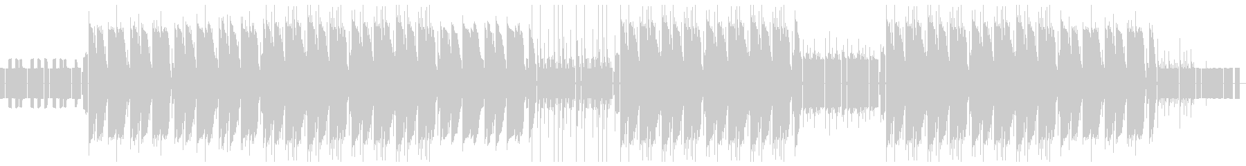 デジタル世界の小人/ 8bitTrapの未再生の波形