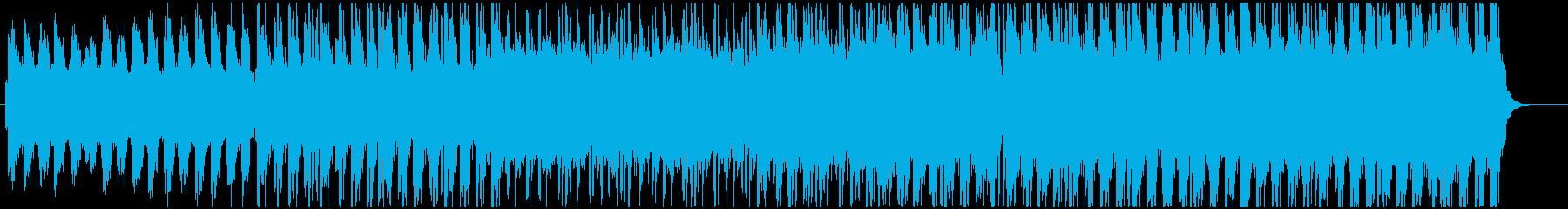 アニメやニュース向けファンタジー調BGMの再生済みの波形