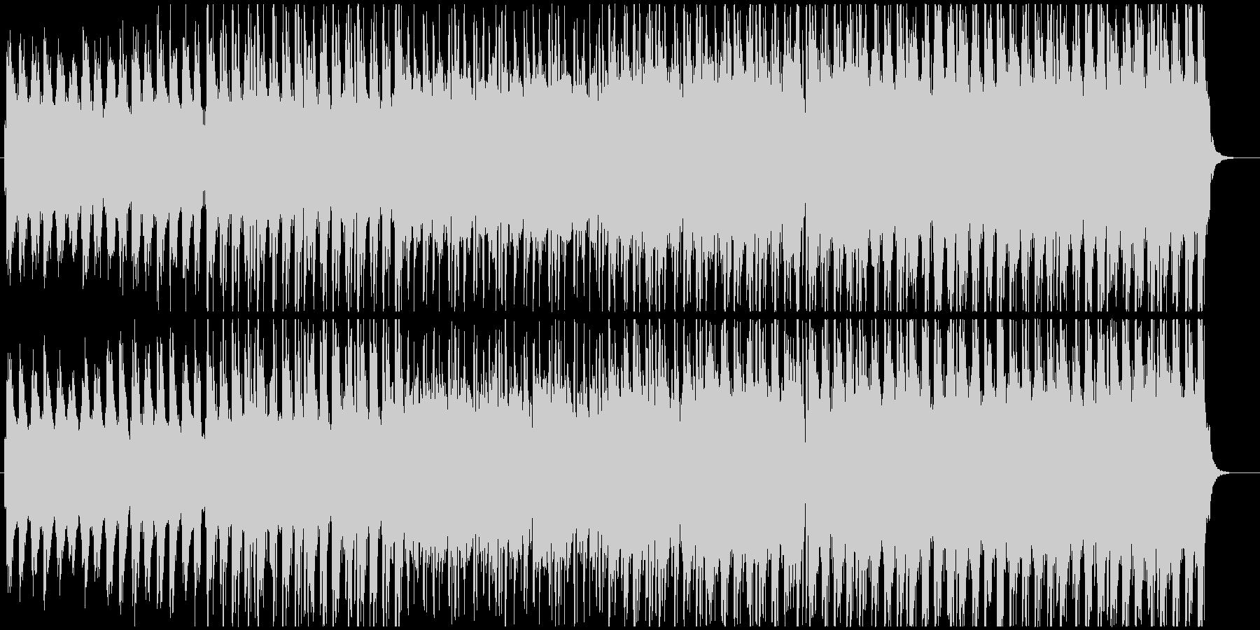 アニメやニュース向けファンタジー調BGMの未再生の波形