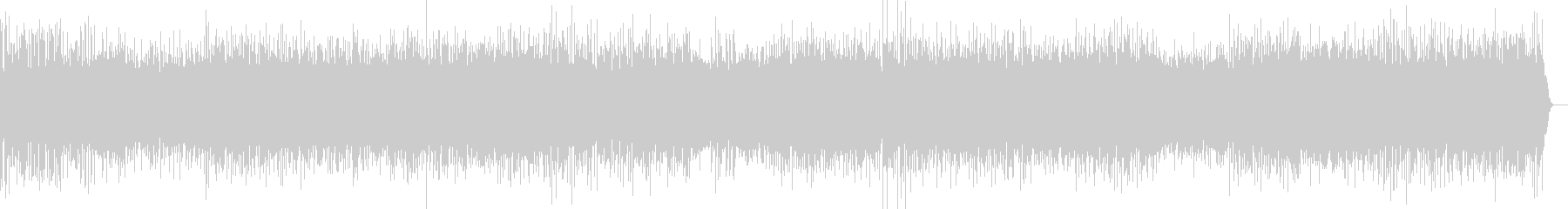 金管楽器をフューチャーしたOP音楽の未再生の波形