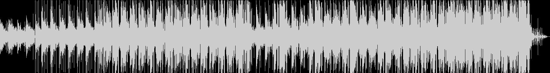 レトロ・温かみのあるLoFiヒップホップの未再生の波形